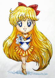 Chibi Sailor Venus by RavenCorona