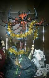 Diablo wishes you a Happy New Year by RavenCorona