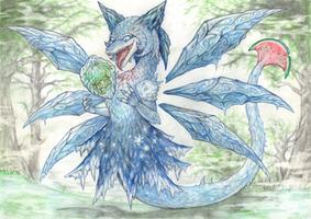 Dragonized Cirno