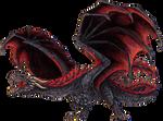 Big Bad Dragon by RavenCorona