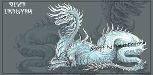 ADOPT AUCTION | Silver Lindwyrm [CLOSED]