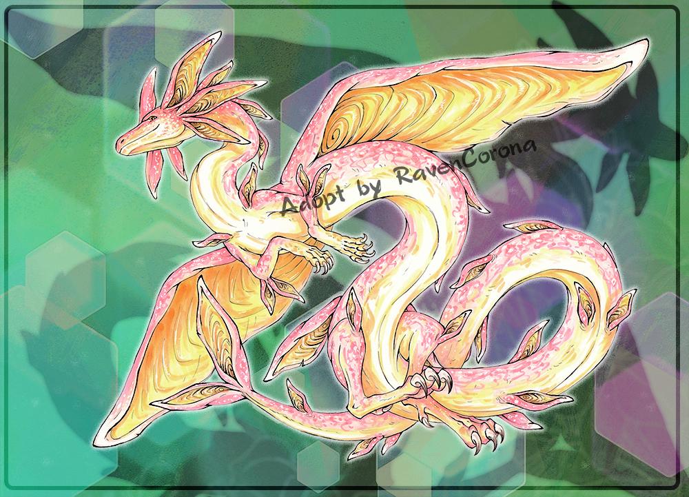Lowered price | Aural Dragon Adopt [CLOSED]