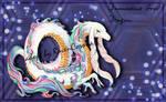 [CLOSED] Damascus Goat Dragon ~ Adopt Auction by RavenCorona