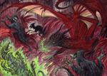 Commission - The Purge by RavenCorona