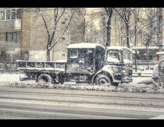 Stuck truck... by Iulian-dA-gallery