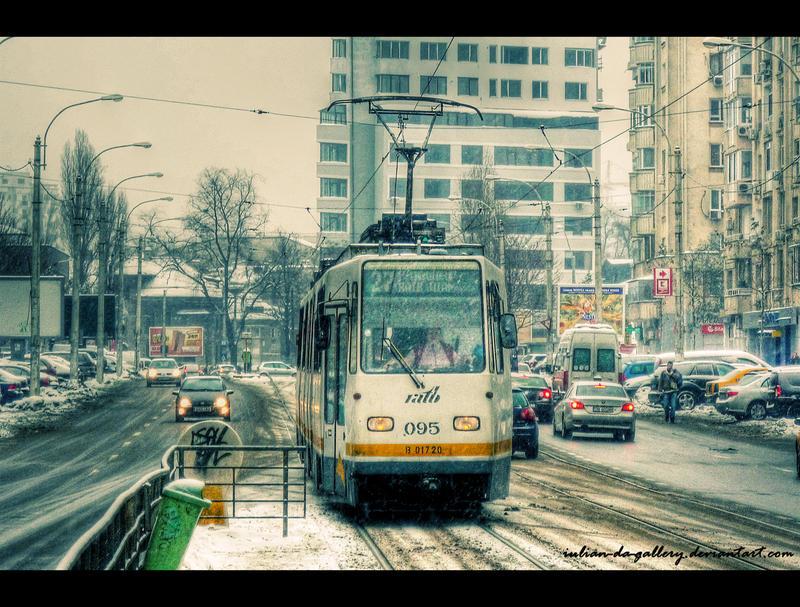 tram 27 by Iulian-dA-gallery