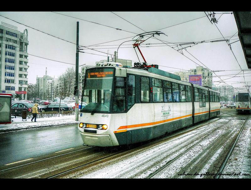 tram 1 by Iulian-dA-gallery