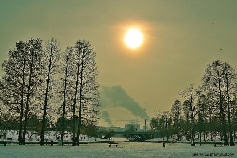 cold day... by Iulian-dA-gallery