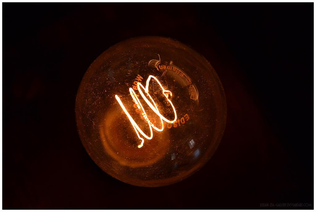 bulb of Edison... by Iulian-dA-gallery