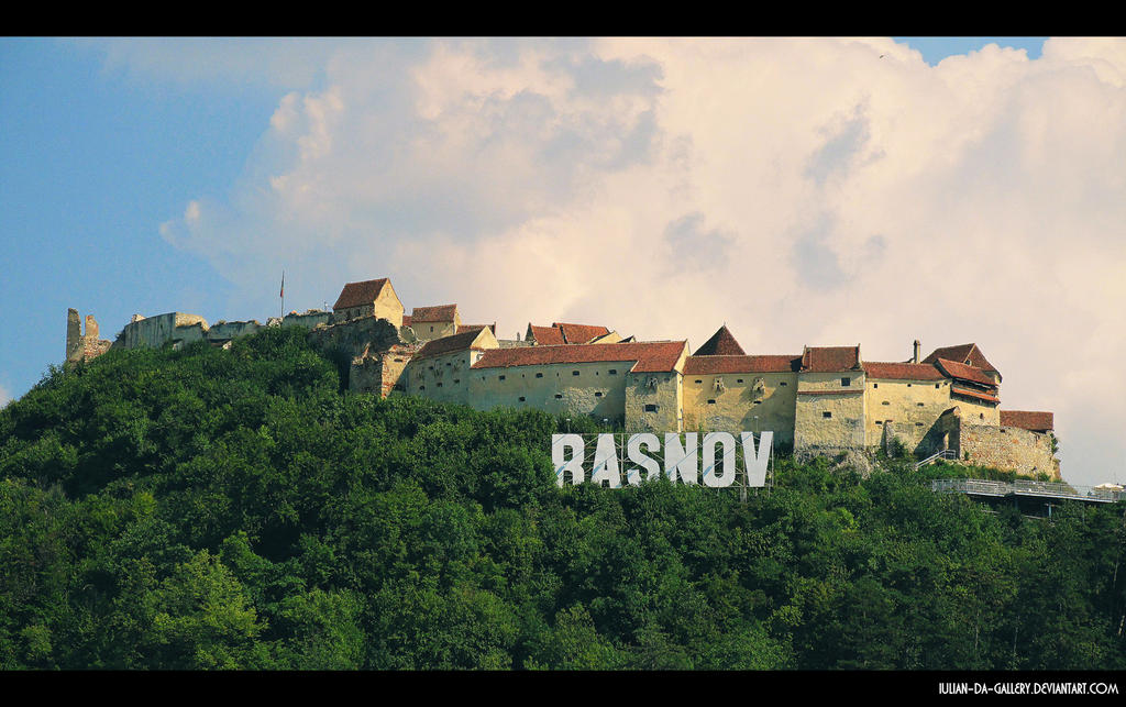 Risnov citadel... by Iulian-dA-gallery