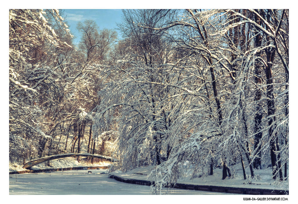 everything is frozen... by Iulian-dA-gallery
