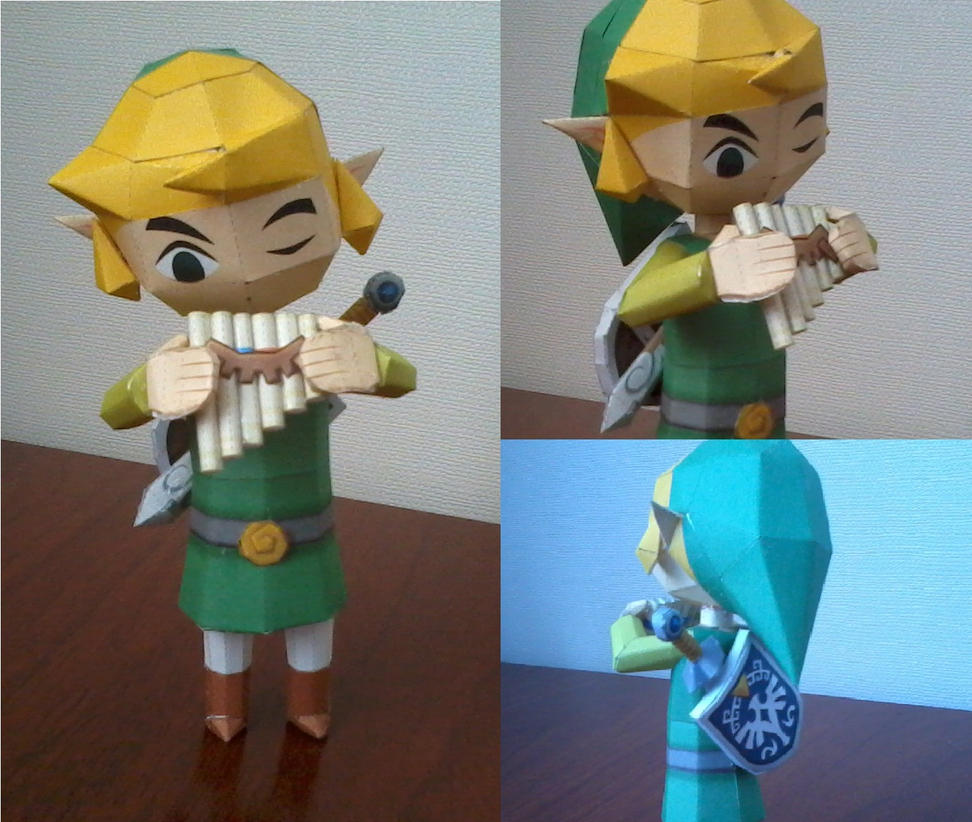 Link Papercraft by LOK-KUL