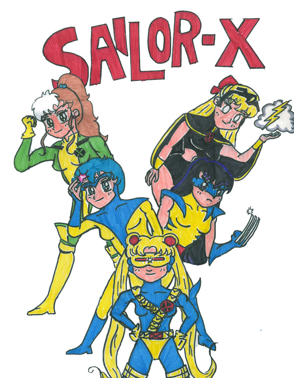 Sailor Moon x-men