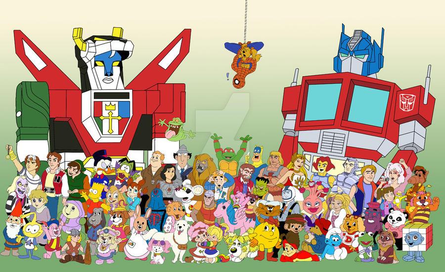 80's Cartoon Explosion