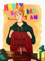 Happy birthday Horseface by Mogoliz