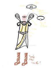 Concept for Hythenia's Costume