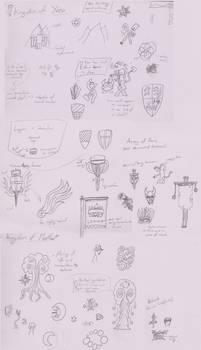 Collage of Kingdom banner designs (LfT:Hot4K)