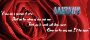 Banner for my character, Aakenus
