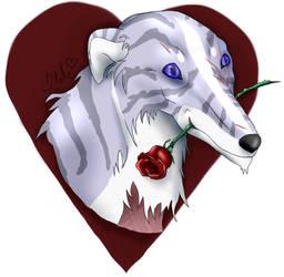 Valentine's Day secret friend gift to Prime! by AnarkistiStile