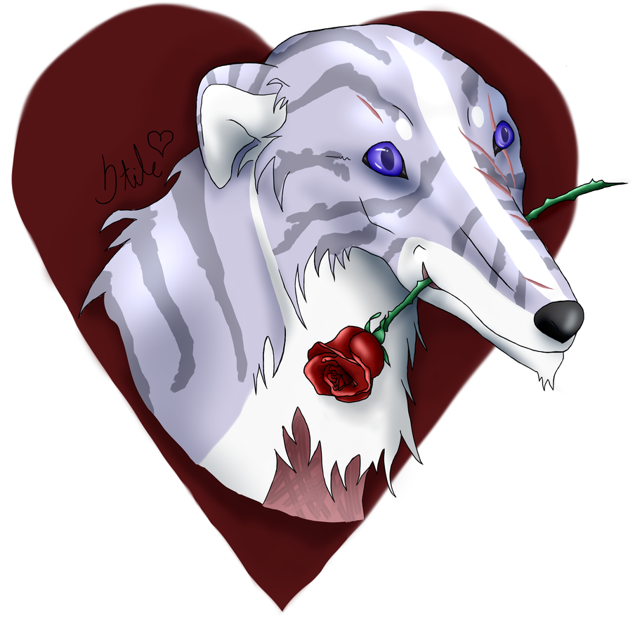 Valentine's Day secret friend gift to Prime! by AnarkistiStile
