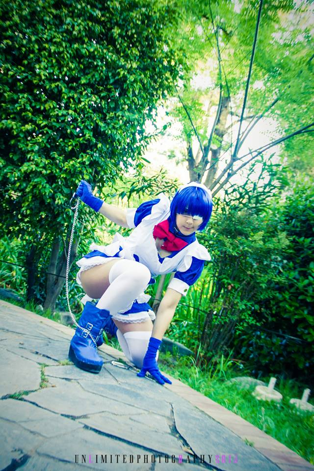 Ryomou Shimei - Ikki Tousen / Battle ver. 5 ~ by Inoshindashin