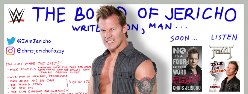 Chris Jericho Timeline Design 2016 by banagher-links