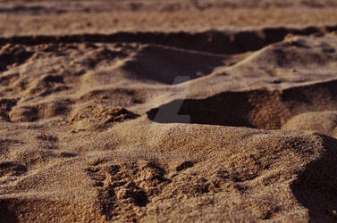Sand close-up