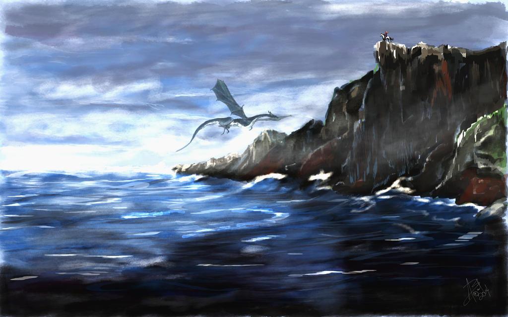 Dragon Mist by AngeInk