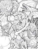 Metroid Nemesis 2 Ink by Manzhanz