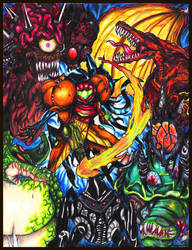 Metroid Nemesis 2 by Manzhanz