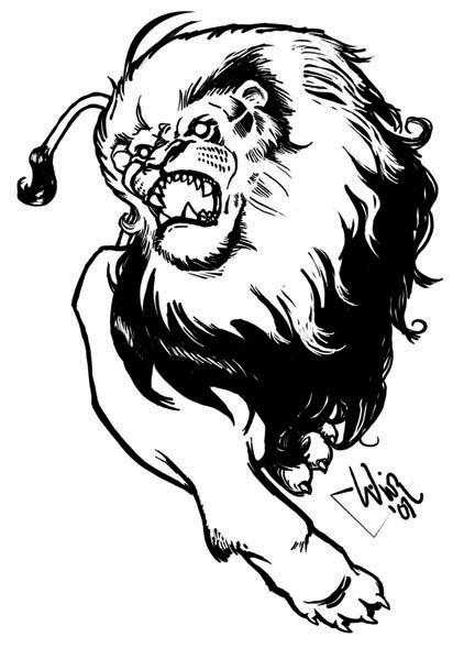 lion roarwilsonwjr on deviantart