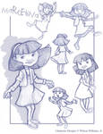 Lil Girl Sketches