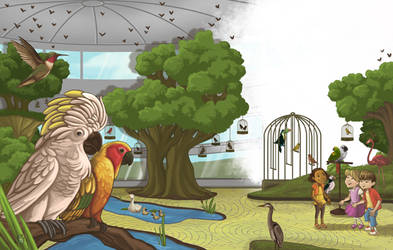 Pet Pal Aviary Room by WilsonWJr