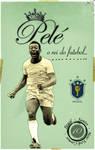 Pele 'Vintage Poster'