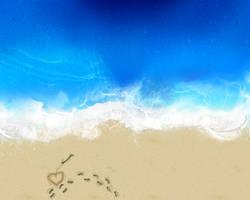 Love Beach by GoblinFish