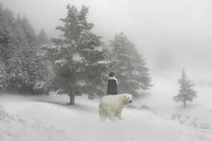 The Polar Bear King by ElindielForestStar
