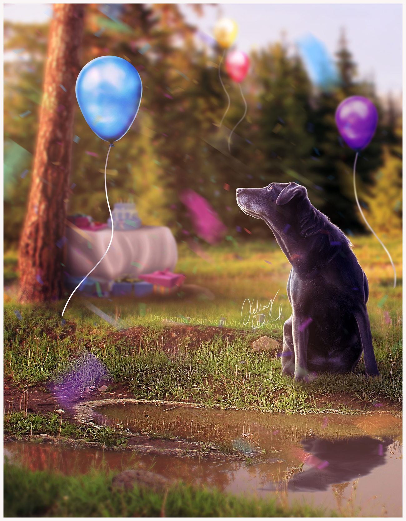 Birthday Katy! {comm}