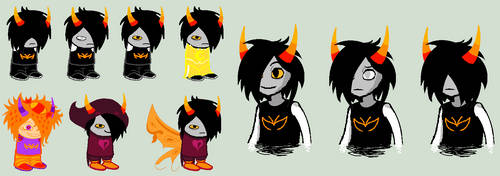 Nirrav Sprites by SavannaEGoth