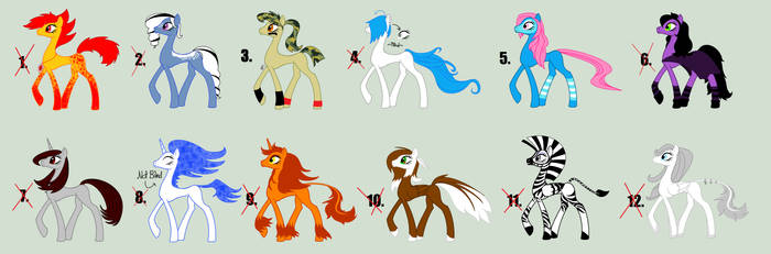 Pony Adopts on Homestuck-and-Ponies - DeviantArt