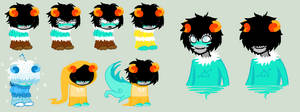 Chu Sprites for Agavny by SavannaEGoth