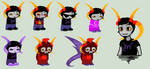Marduk Sprites by SavannaEGoth