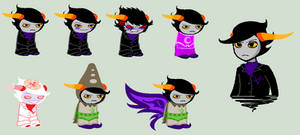 Keiris Sprites by SavannaEGoth