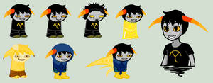 Zander Sprites by SavannaEGoth