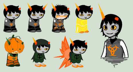 Vordan Sprites by SavannaEGoth