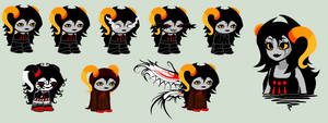 Savana Sprites by SavannaEGoth