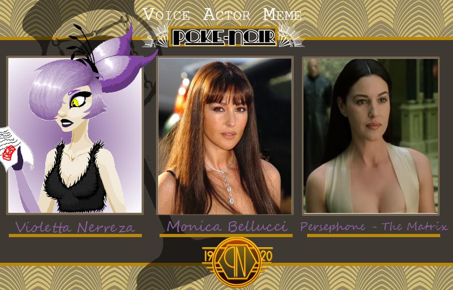 Violetta Voice Actor by SavannaEGoth