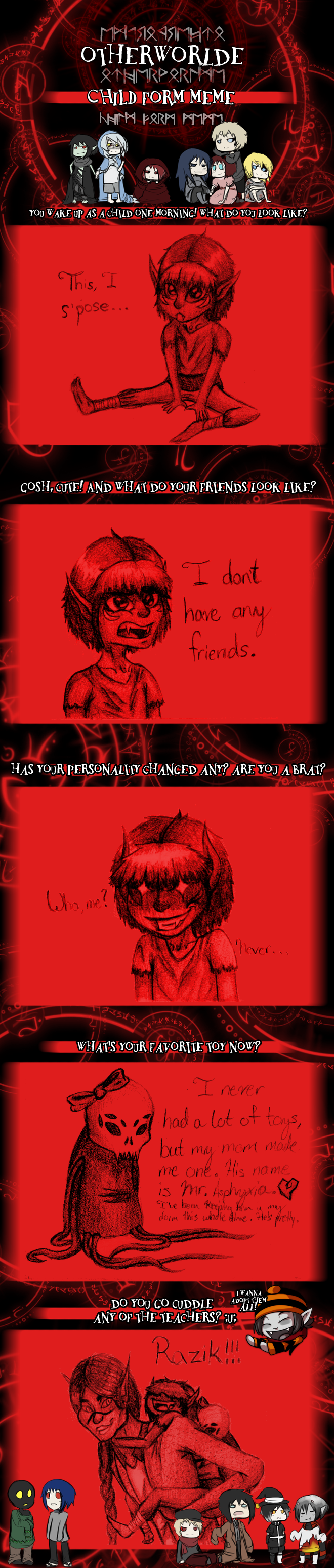 Bloody - Sudden Childhood Meme by SavannaEGoth