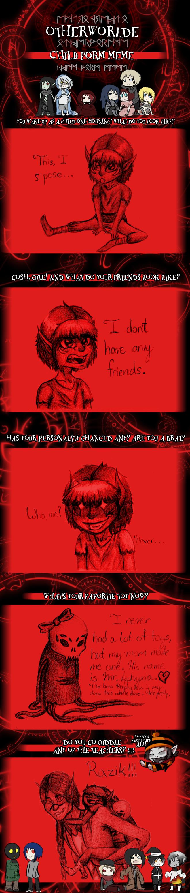 Bloody - Sudden Childhood Meme by SavannaEGoth