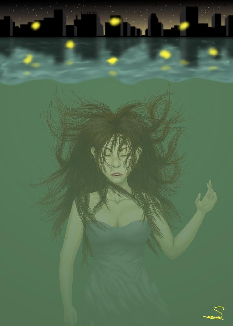 Balitmore's Fireflies by SavannaEGoth