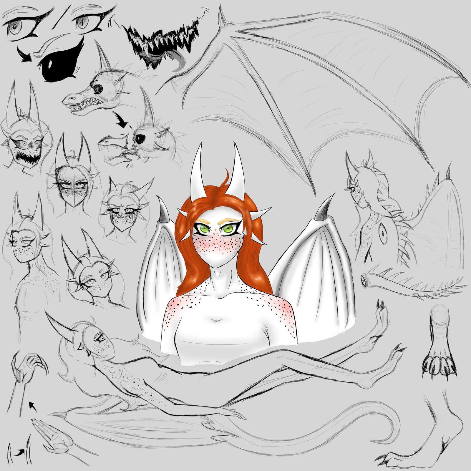Sona Concept Sketches by SavannaEGoth
